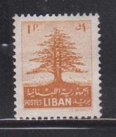 LEBANON Scott # 257 MH - Some Missing Gum - Lebanon