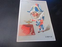 Chromo,Maison Leger L Dhuit, Paris - Trade Cards