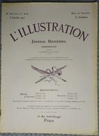 """L'Illustration 3632 5 Octobre 1912 Lucien Guitry/Maroc Marakech/Japon Mikado/Cuirassé """"Paris""""/Concarneau/Fabiano - Zeitungen"""
