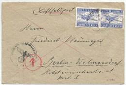 H831 - LUFTFELDPOST N° 55797 = KÖNIGSBERG Pour BERLIN - - Allemagne