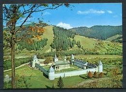 Kloster Sucevița / Gesamtansicht - Kreis Suceava - Gel. 02.08.1974 - Rumänien