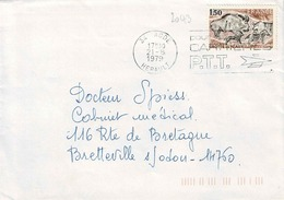 TP N° 2043 Seul Sur Enveloppe De Agde - Marcophilie (Lettres)