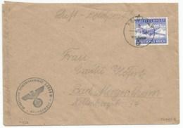 H832 - LUFTFELDPOST N° 32075 B De 1942 Pour BAD MERGERSTHEIM - - Allemagne