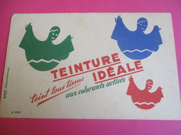 Buvard/ Teinture/ TEINTURE IDEALE/ Teint Tous Les Tissus Aux Colorants Activ/Efgé/Valenciennes  /Vers 1945-1960   BUV362 - Vestiario & Tessile