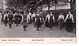 Royaume Unis, Convent Of St. Chrétienne, Senior Class Drill. GILLINGHAM. KENT, De 1927 - Autres