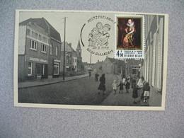 Carte  Belgique  1975 - Philatélie De La Jeunesse - Fostzegelkring  8630  Gullegem - Cartas Commemorativas