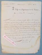 Lettre 26 Pluviose An 13 Charles Cochon De Lapparent - Poitiers Vienne Traversonne Né à Champdeniers - 1er Empire Poitou - Autographes