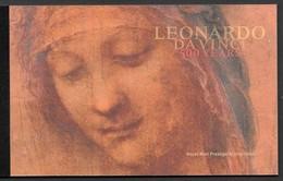 Gran Bretagna UK (2019) Leonardo Da Vinci (500th Anniversary Of Death) - Prestige Booklet - Celebrità