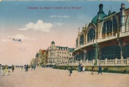 CPA - Belgique - Oostende - Ostende - La Digue Centrale Et Le Kursaal - Oostende