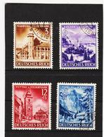 AUA1356 DEUTSCHES REICH 1941 MICHL 806/09 Used / Gestempelt SIEHE ABBILDUNG - Deutschland
