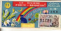 France - 234 - Le Dixième Porte-bonheur - 26 ème Tranche 1960 - Loterijbiljetten
