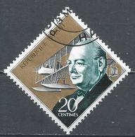 Haiti 1968. Scott #606 (U) Winston Churchill And Early Seaplane * - Haïti