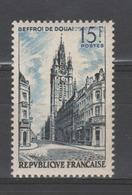 FRANCE / 1956 / Y&T N° 1051 ** : Beffroi De Douai - Gomme D'origine Intacte - France