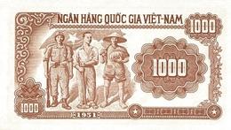 VIETNAM  P. 65a 1000 D 1951 UNC - Vietnam