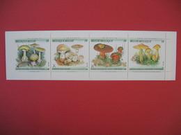 Carnet De 4 Timbre  Belgique  1991 - Champignons - Markenheftchen 1953-....