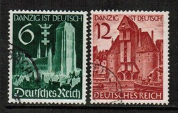 GERMANY  Scott # 492-3 VF USED (Stamp Scan # 454) - Used Stamps