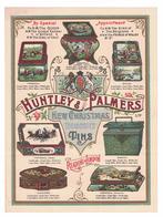 DEPLIANT PUBBLICITARIO HUNTLEY & PALMERS - Advertising
