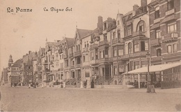 CPA - AK De La Panne Digue Est Grand Hotel A Koksijde Middelkerke Oostende Ostende Nieuwpoort Westende Brugge Belgique - De Panne