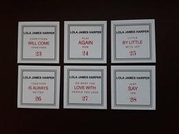 LOLA JAMES HARPER  ~~~  6 Cartes à Parfumées Différentes   !! - Perfume Cards