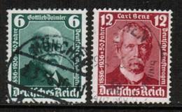 GERMANY  Scott # 470-1 VF USED (Stamp Scan # 454) - Germany