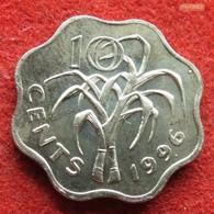 Swaziland 10 Cents 1996 KM# 49  Swasiland Swazilandia Suazilandia - Swaziland