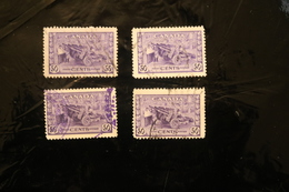 Canada 261 Artillery Munitions Used Four Copies WYSIWYG 1942-43  A04s - Used Stamps