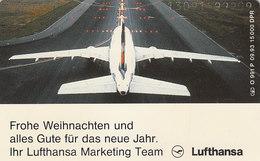 O991P  09.93 Frohe Weihnachten Von Marketing Team Lufthansa, Christmas, Read Description Before Bidding - Germany