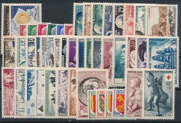 CM-125: FRANCE: Lot Avec Année 1955** - 1950-1959