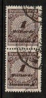 GERMANY  Scott # 294 VF USED PAIR (Stamp Scan # 454) - Germany