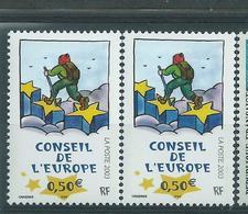 [29] Variété :  Services N° 126 Pantalon Vert Au Lieu De Bleu-vert + Normal ** - Variétés Et Curiosités