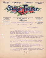 30 ALES COURRIER  1932  Fruits Légume Sprimeurs SITJAR X30 - France