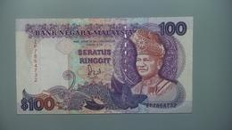 MALAYSIA-100 RINGGIT 1989.VF - Malaysie