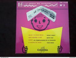 La Bourse Des Chansons N°3: Annie Cordy-Edith Piaf-Tino Rossi/ 45T Columbia ESRF 1196 - Vinyl Records