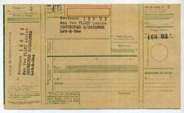 CHEQUE POSTAUX - CHEQUE DE RETRAIT, D4ASSIGNASSION OU AU PORTEUR. ANNEES 60. - Chèques & Chèques De Voyage