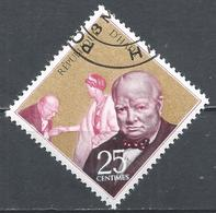 Haiti 1968. Scott #607 (U) Winston Churchill And Queen Elizabeth II * - Haïti