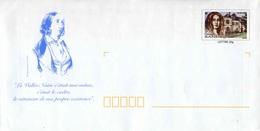 """PAP De 2004 Sur Papier Blanc Satiné Avec Timbre """"George Sand"""", Sans Code-barres Et Repiquage """"G. SAND"""" (Lot 42K/0402951) - Entiers Postaux"""
