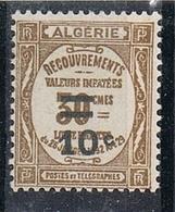 ALGERIE TAXE N°21 N* - Impuestos