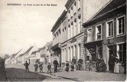 Nederbrakel - La Poste Et Coin De La Rue Basse - Mooie Animatie - Fietswinkel - Brakel
