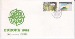 Ireland 1988 FDC Europa CEPT (NB**LAR8-32) - Europa-CEPT