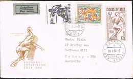 Czechoslovakia 1964 - Postal Cover Sidney (Australia) - Tchécoslovaquie