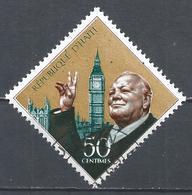 Haiti 1968. Scott #608 (U) Winston Churchill And Big Ben, London * - Haïti