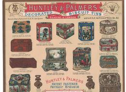 DEPLIANT PUBBLICITARIO HUNTLEY & PALMERS - Pubblicitari