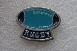 Pin's Rugby Bonanoud Femeni - Rugby
