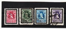 AUA1214 LITAUEN 1927 MICHL 274/77 Used / Gestempelt SIEHE ABBILDUNG - Litauen