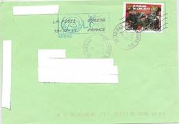 TIMBRE ADH.  N°  579  - MARIAGE DE L'AMI FRITZ -   TARIF PRIORITAIRE - SEUL SUR LETTRE - Postmark Collection (Covers)