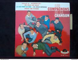 Les Compagnons De La Chanson: De Ville En Ville (Intervilles)/ 45T Polydor 21 055, Languette - Vinyl Records