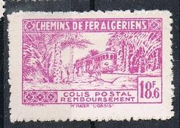 ALGERIE COLIS POSTAL N°157 N*  Variété Sans Surcharge - Algérie (1924-1962)