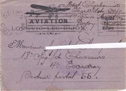 Carte Lettre AVIATION - 1917 - D'un Soldat - - 1914-18