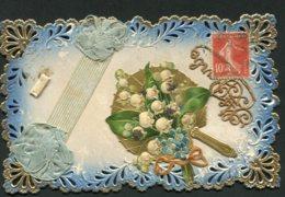 11335  Carte  Sainte-Barbe  Ajourée - Fêtes - Voeux