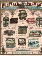 DEPLIANT PUBBLICITARIO HUNTLEY & PALMERS - Publicités